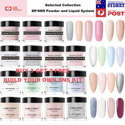 AU12.95 • Buy Nicole Diary Dipping Powder Kit Dp Base Activator Top Bond Dehydrate Sns Acrylic