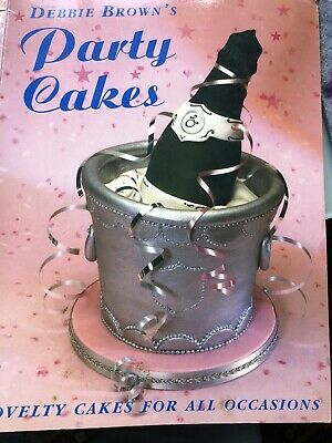 Debbie Brown's Party Cakes By Debbie Brown Paperback Book The Cheap Fast Free • 2.12£
