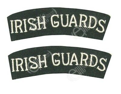 WW2 British Army Titles For Irish Guards Arm Sleeve Shoulder Patches Badges • 8.95£