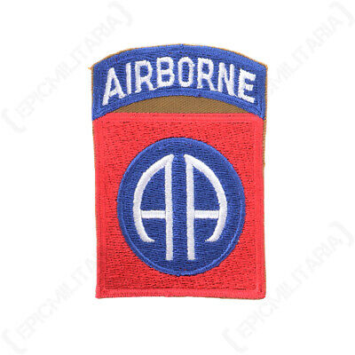 WW2 British Army Military 2nd Airborne Shoulder Arm Sleeve Patch Badge - Type 2 • 5.75£