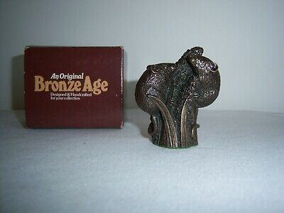 FIELD MICE - PETER FAGAN HAND MADE   BRONZE AGE  SCULPTURE -  6 Cm - BOXED    • 6.50£