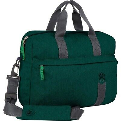 STM Goods Judge Messenger Bag - Fits Up To 15 Laptop - Botanical Green - Impa... • 58.19£