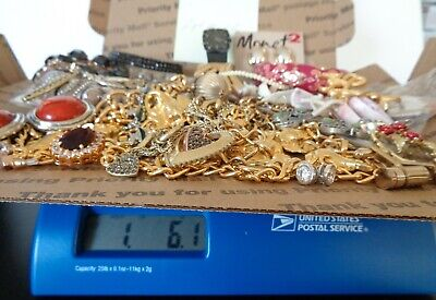 $ CDN7.75 • Buy Vintage To Modern, Lot Of + 1.5 Pounds, Sterling And More, Wearable Jewelry, Or