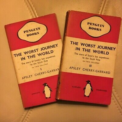 £32.90 • Buy The Worst Journey In The World.  A. Cherry-Garrard. 2 Vols.#99/100.1st Ed. Peng.