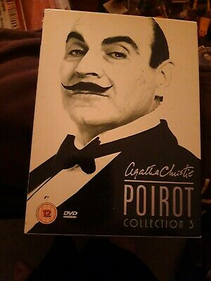Poirot Complete Dvd Collection 3 • 6.75£