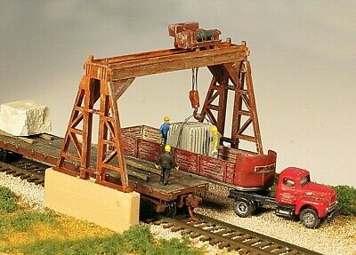 AU31.41 • Buy Monroe Models 9301 ***N SCALE**** OVERHEAD GANTRY CRANE - KIT
