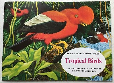 Brooke Bond Picture Cards:Tropical Birds Album And Full Set Of 50 Cards (NEW).   • 9.39£