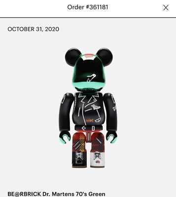 $50 • Buy SHIPPED Bearbrick Dr. Martens 60th Anniversary 1970s