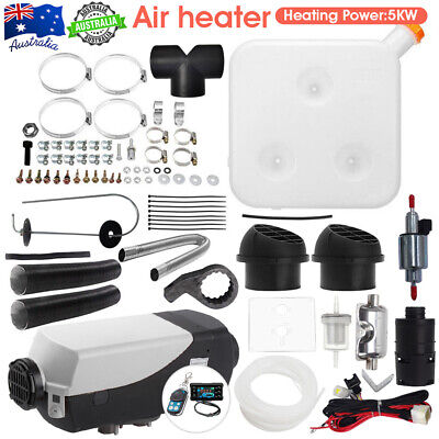 AU189.99 • Buy Diesel Air Heater 2KW Adjustable Tank Thermostat Silencer Caravan Motorhome _ RV