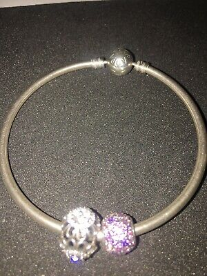 Pandora Braclet With Two Stunning Charms • 25£