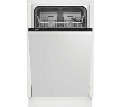 Beko DIS15012 10 Place A+ 48 DB Rating Slimline Fully Integrated Dishwasher • 210£