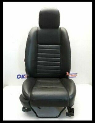 $220.95 • Buy 05-09 Ford Mustang Gt Passenger Front Bucket Seat Black Leather
