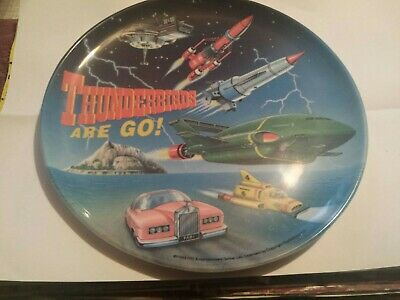 Thunderbirds Job Lot Plate,cutlery,2 Keyrings, 2 Danglers And Matchbox Pod. • 7.51£