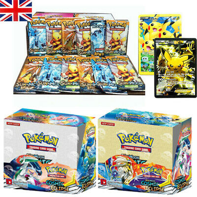 324Pcs Cards Bundle Booster Box Kids Gifts English Edition Break Point 36 Packs • 13.99£