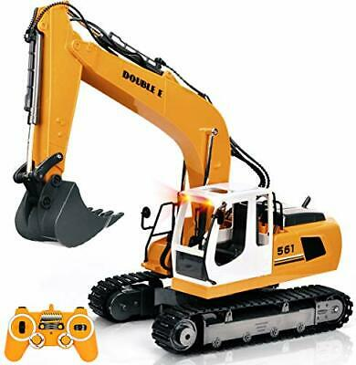 Remote Control Digger Children Kids Toy Excavator Truck Controlled RC Gift • 45.99£