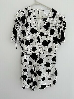 AU90 • Buy Alice McCall Black And White Playsuit - Size 12