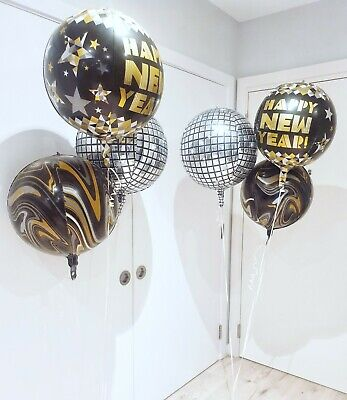 £4.29 • Buy New Year 2021 Foil Balloons For New Year Eve Party Merry Christmas Decorations