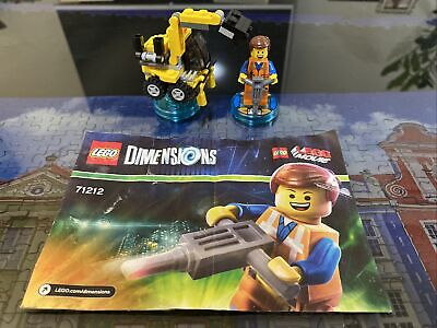 AU29 • Buy LEGO 71212 Dimensions Emmet Lego Movie Excavator Mech 100% Complete With Book