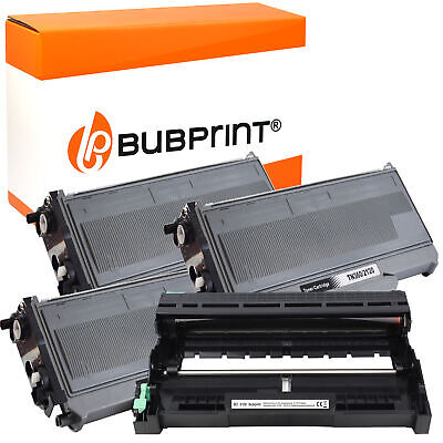 3 Toner & Drum Compatible With Brother TN-2120 DR-2100 DCP7030 HL2140 MFC7320 • 38.47£