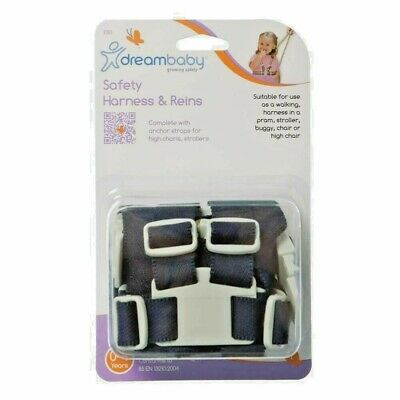 £8.99 • Buy Dreambaby Safety Harness & Reins Use As Walking, In Pram, Stroller, Buggy, Chair