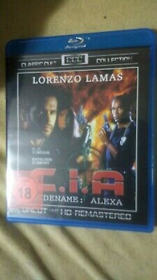 Ci.a Codename Alexa  Blu-ray  Lorenzo Lamas  New But Not  Sealed • 13.99£