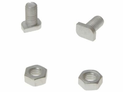 ALM Manufacturing GH003 Cropped Glaze Bolts & Nuts Pack Of 20 • 4.22£