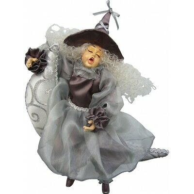 Witches Of Pendle - Moon Dreamer Witch Hanging (SILVER) 27cm • 14£
