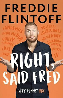 Signed Book - Right, Said Fred By Andrew Flintoff First Edition 1st Print • 17.99£
