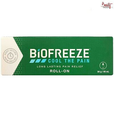 £9.89 • Buy Biofreeze Pain Relieving Roll On 89 Ml Cryotherapy The Cold Method