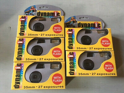Disposable Camera With Expired Flash 2007 - Pack Of Five • 35£