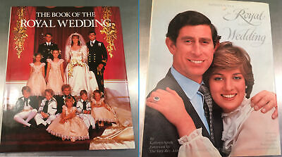 Two British Royal Wedding Books Charles & Diana, Prince Andrew And Fergie • 7.95£
