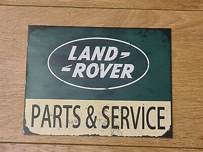 A4 Land Rover Garage  Metal Sign Shed Wall Decor Poster Home Man Cave Retro • 7£