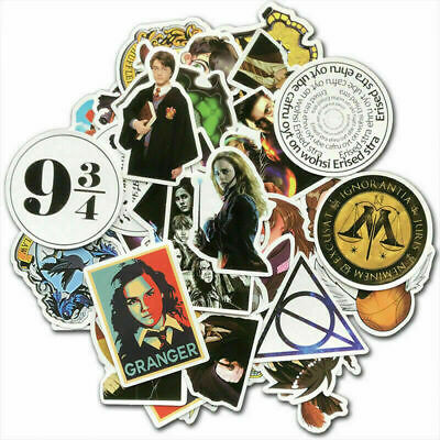 £3.99 • Buy 50Pcs Harry Potter Stickers Pack Skateboard Luggage Laptop Phone Vinyl Decals