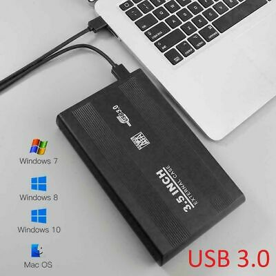 USB 3.0 To SATA Hard Drive Enclosure Caddy External Case For 2.5  Inch HDD SSD • 4.99£