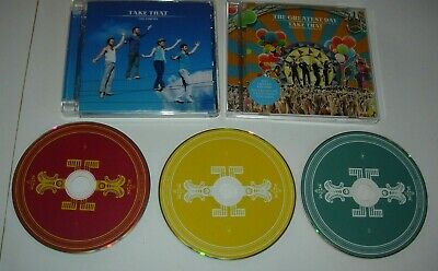 3 X CD LOT TAKE THAT THE GREATEST DAY THE CIRCUS LIVE FROM ABBEY RD  • 4.99£