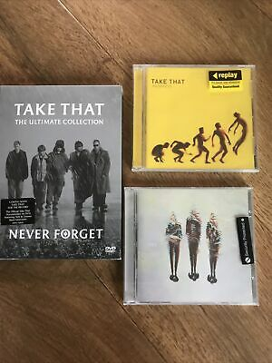 Take That Dvd / Cd Bundle - The Ultimate Collection, Progress, Take That 3 New • 2.99£