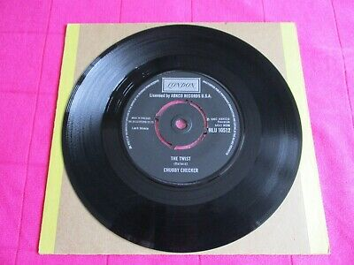 Chubby Checker   The Twist/Let's Twist Again    UK  7  • 1.95£