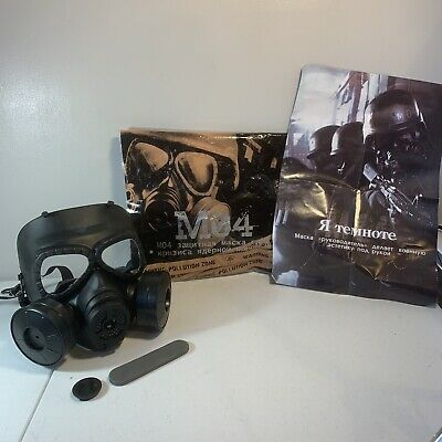 $52.50 • Buy M04 Airsoft Gas Mask Paintball Gear Full Face Mask Protection Coverage