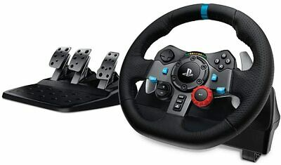 AU387.95 • Buy NEW Logitech G29 Driving Force Racing Wheel For PlayStation PS4/PS3/PC