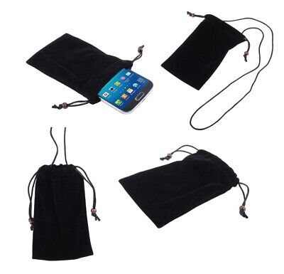 £8.95 • Buy For Nokia E63 Case Cover With Chain And Loop Closure Soft Cloth Flannel Carry...