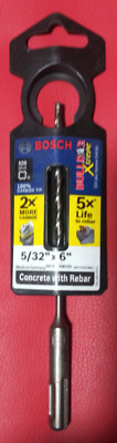£6.82 • Buy BOSCH Bulldog Xtreme 5/32 In X 6 In. SDS-Plus Carbide Rotary Hammer Drill Bit