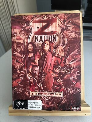 AU45 • Buy Z Nation The Complete Season 1, 2, 3 & 4 DVD Box Set 15-Disc Set