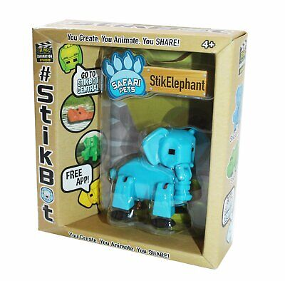 £10.29 • Buy New Original Boxed Stikbot Elephant Pets Stop Motion Animation Action Figure Kid