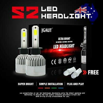 AU22.59 • Buy H3 LED Car 252W 25200LM Headlight Conversion Globes Bulb Kit Driving Fog Light