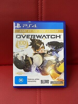 AU27.32 • Buy Overwatch Game Of The Year Edition PS4 PlayStation 4