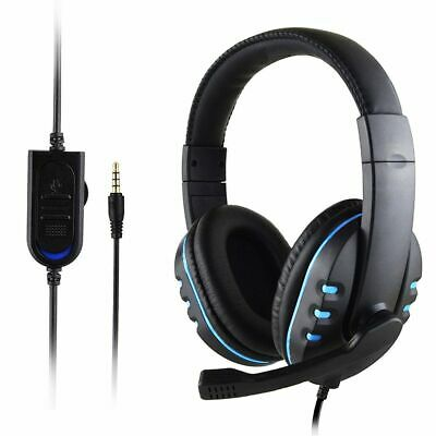 Gaming Headset For Xbox One PS4 Nintendo Switch PC Laptop Stereo Mic Headphones • 11.75£