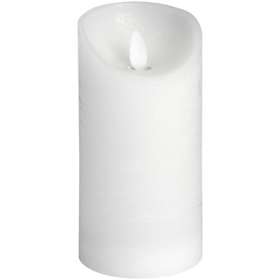 £11.99 • Buy White Wax Flickering LED Candle 3X6 Inches (One Supplied) #18087