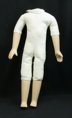 $ CDN37.65 • Buy Vintage Bisque Porcelain Doll Arms And Legs Cloth Body 12  Overall