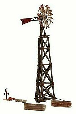 AU31.50 • Buy Woodland Br4936 Old Windmill With Troughs And Pump ****n Scale Model Train****