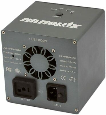 Nanolux Cube Series E-Ballast 1000W HPS & MH 120V-240V Dimmable Digital Ballast • 166.74£